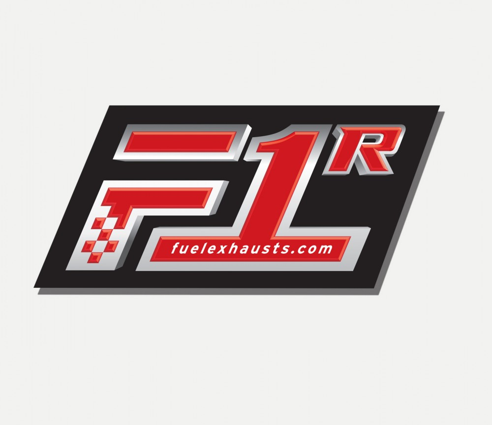 F1R Road Exhaust Label