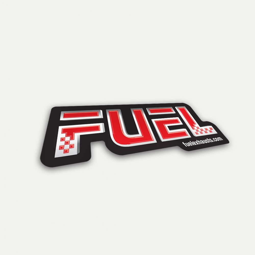 Fuel Exhausts Sticker