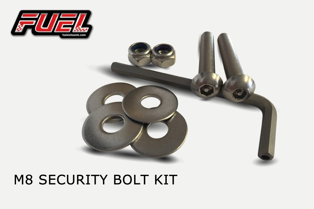 Exhaust Security Bolt Kit - Pair