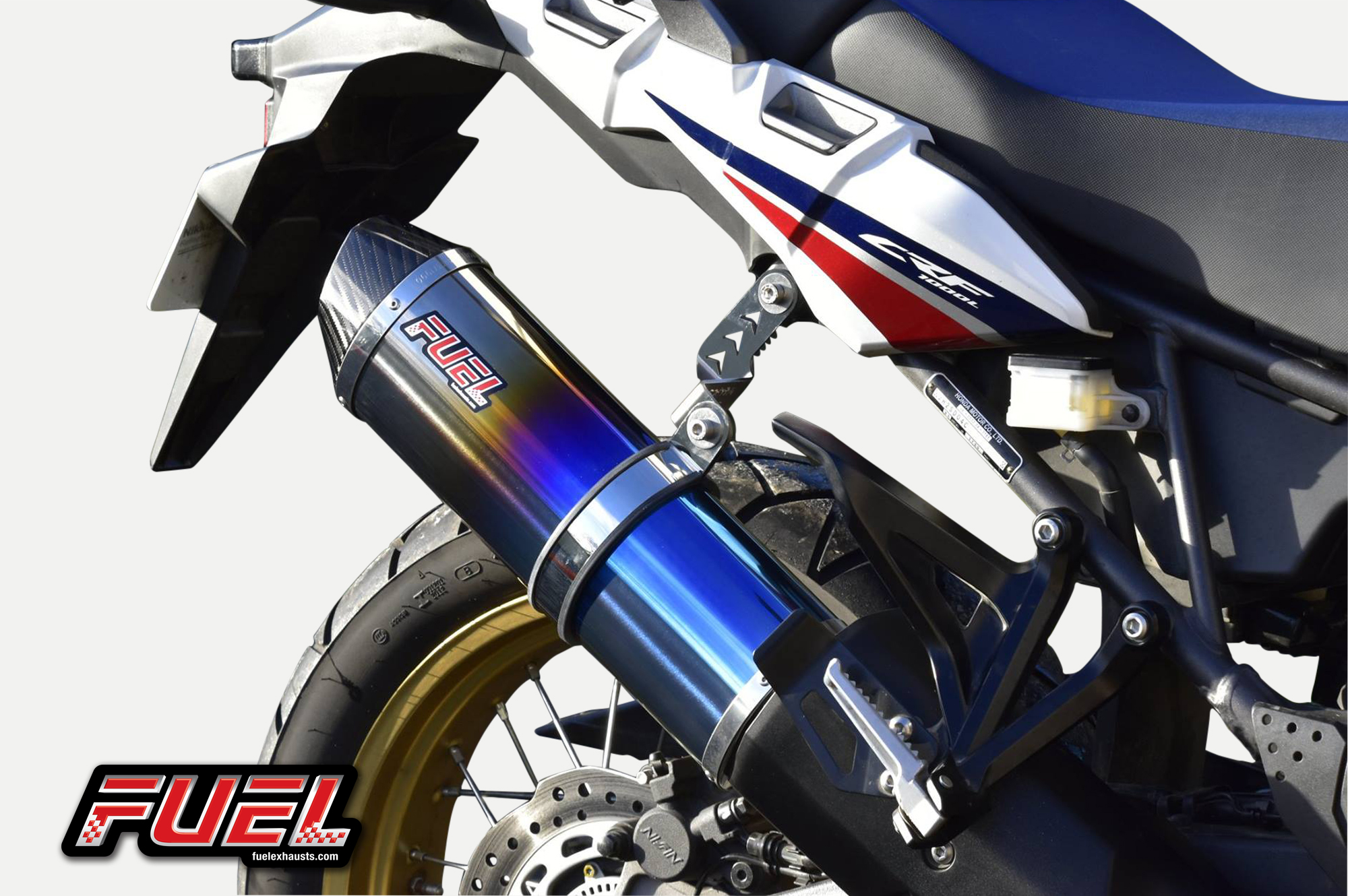 Fuel Exhausts Available For The Honda Africa Twin Crf1000l