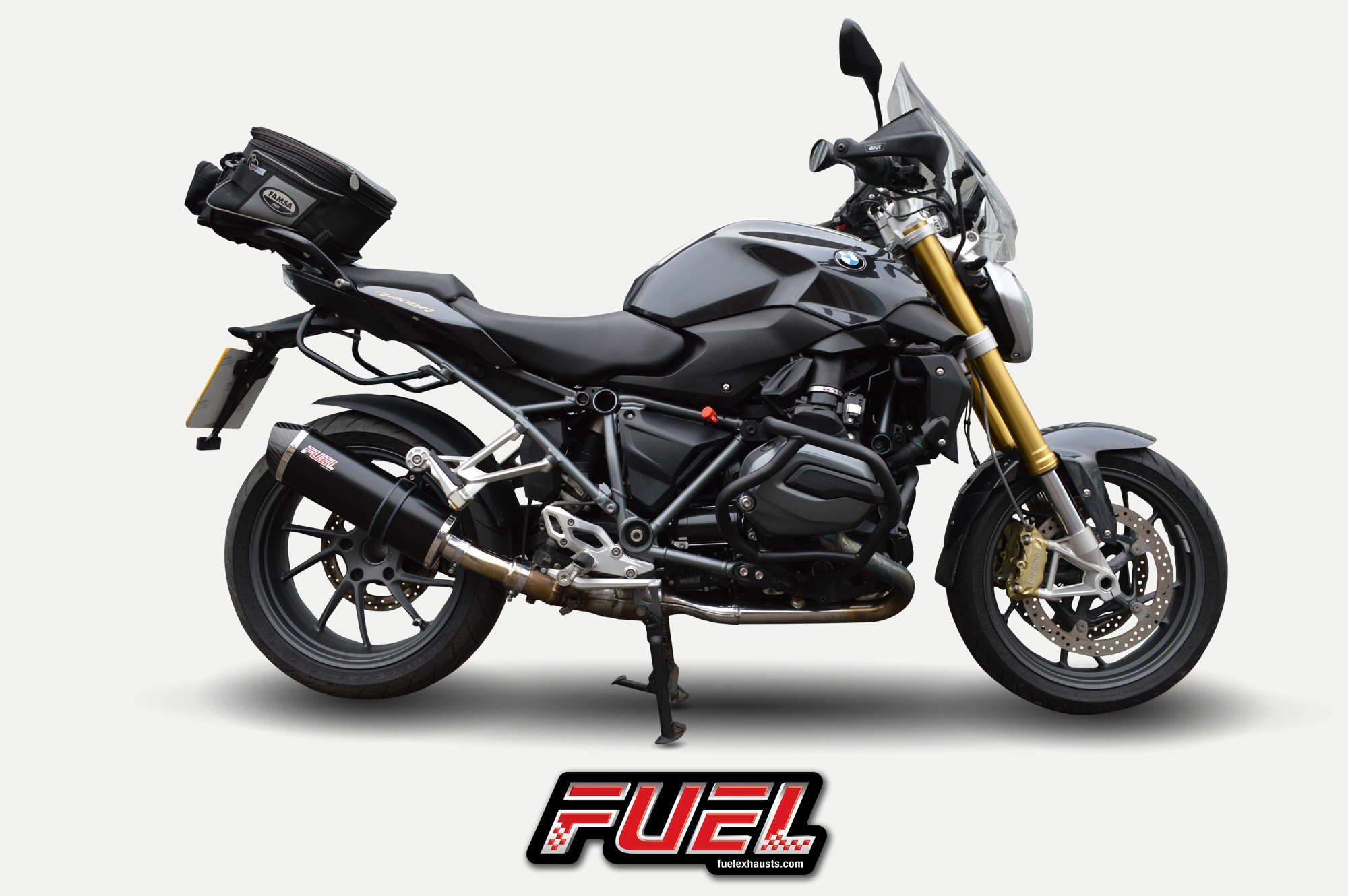 bmw r1200r 2015 fuel exhausts available now. Black Bedroom Furniture Sets. Home Design Ideas