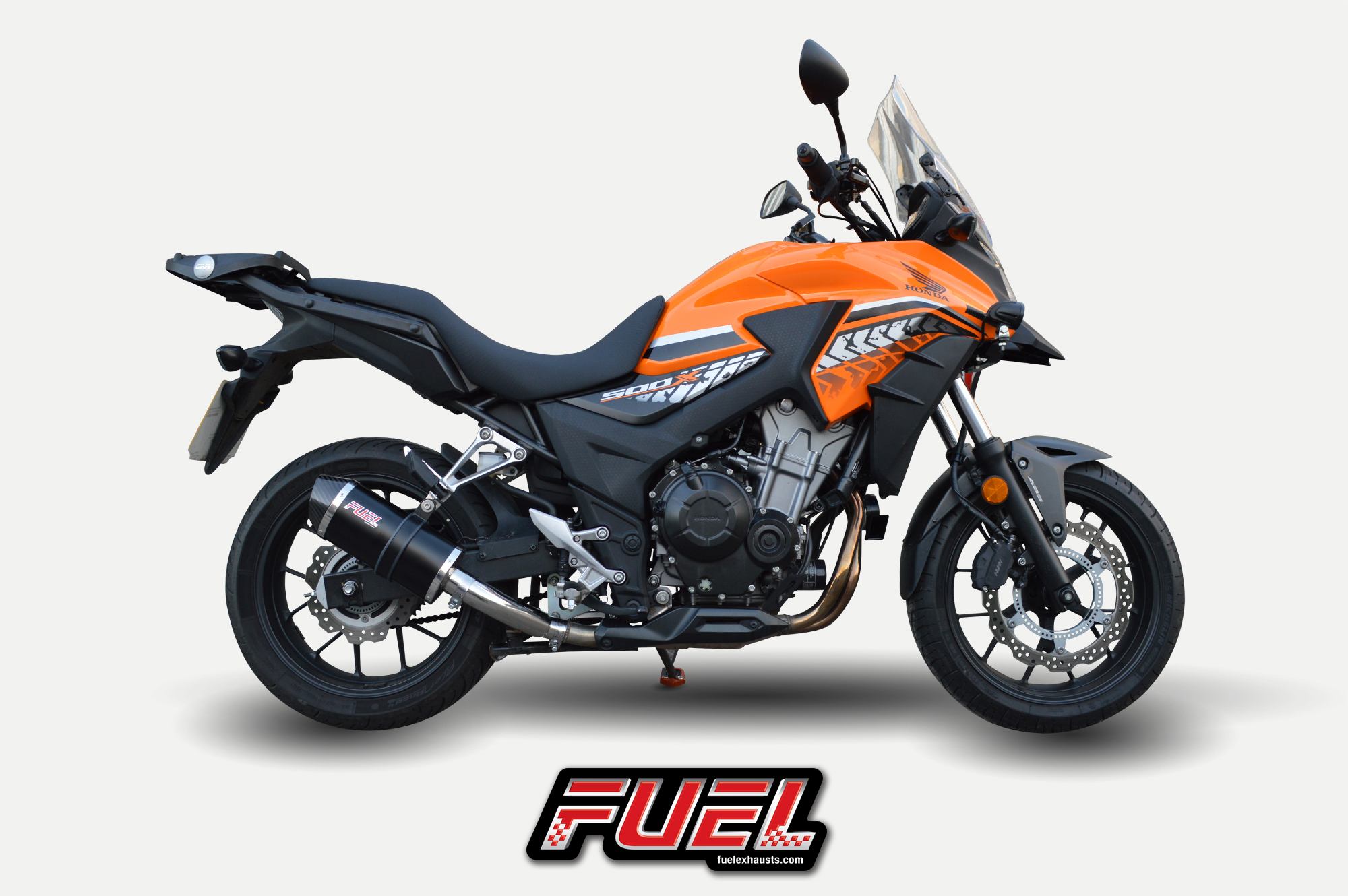 update your honda cb500x with a fuel exhaust. Black Bedroom Furniture Sets. Home Design Ideas