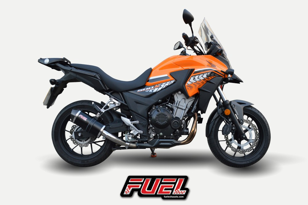 Update Your Honda Cb500x With A Fuel Exhaust