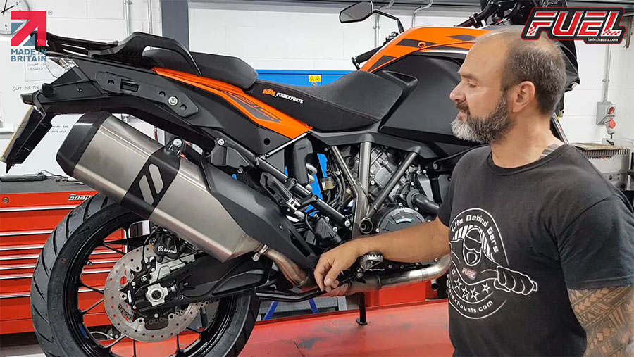 KTM 1290 Super Adventure Fitting