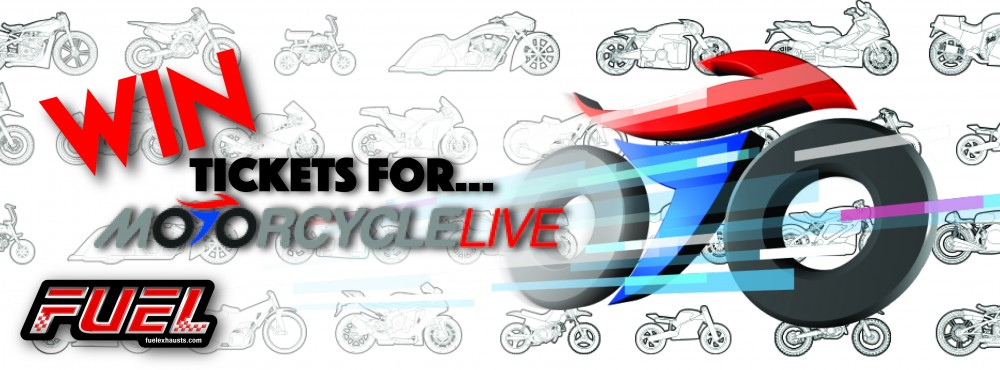YOUR CHANCE TO WIN 2 TICKETS TO MOTORCYCLE LIVE 2016!