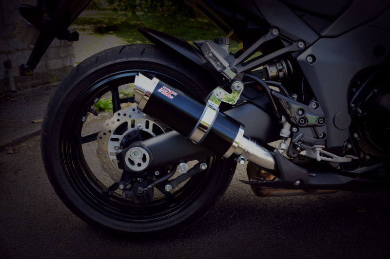 Motorcycle Exhaust Weight Savings
