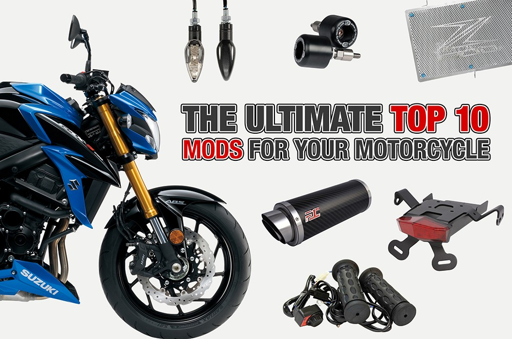 The ultimate top 10 mods for your motorcycle