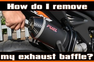 Removing your baffle / dB killer