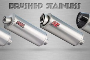 Brushed Stainless Exhausts
