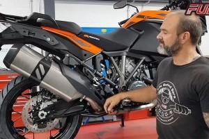 KTM 1290 Super Adventure Fitting