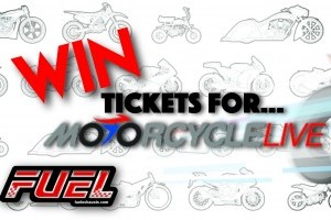 YOUR CHANCE TO WIN 2 TICKETS TO MOTORCYCLE LIVE 2017!