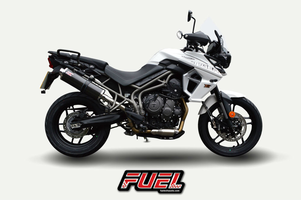 2018 Triumph Tiger 800 Fuel Exhausts Available Now