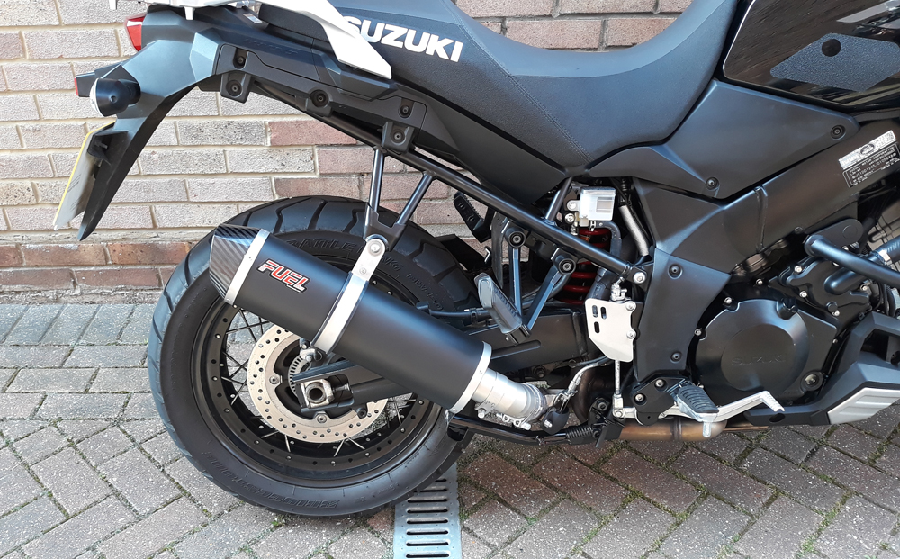 V-STROM DL1000 2014-2019 Exhaust Oval Carbon Silencer 300CT