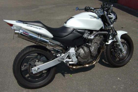 honda cb600 hor  f3 f6 2003 06 exhaust   gallery