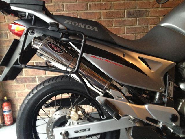 Honda Transalp Xl650v 2000 07 Exhaust Gallery