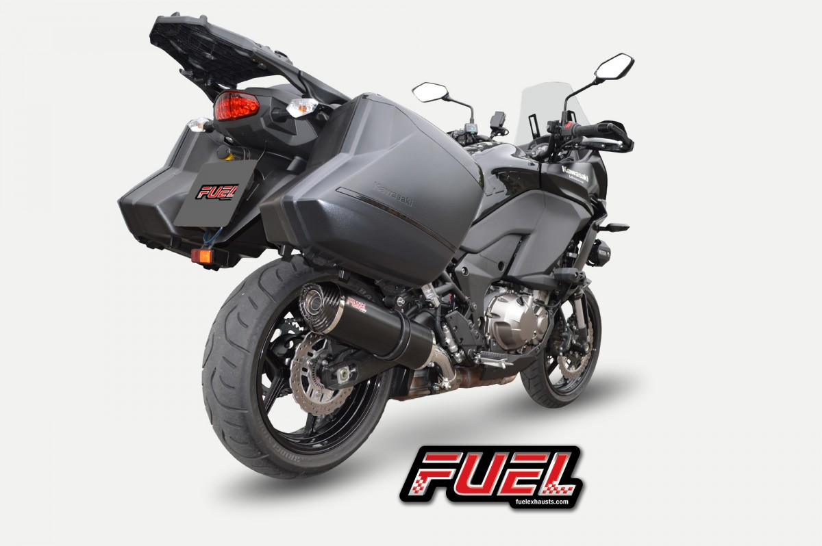 kawasaki versys 1000 tourer gt 2015 exhaust systems. Black Bedroom Furniture Sets. Home Design Ideas