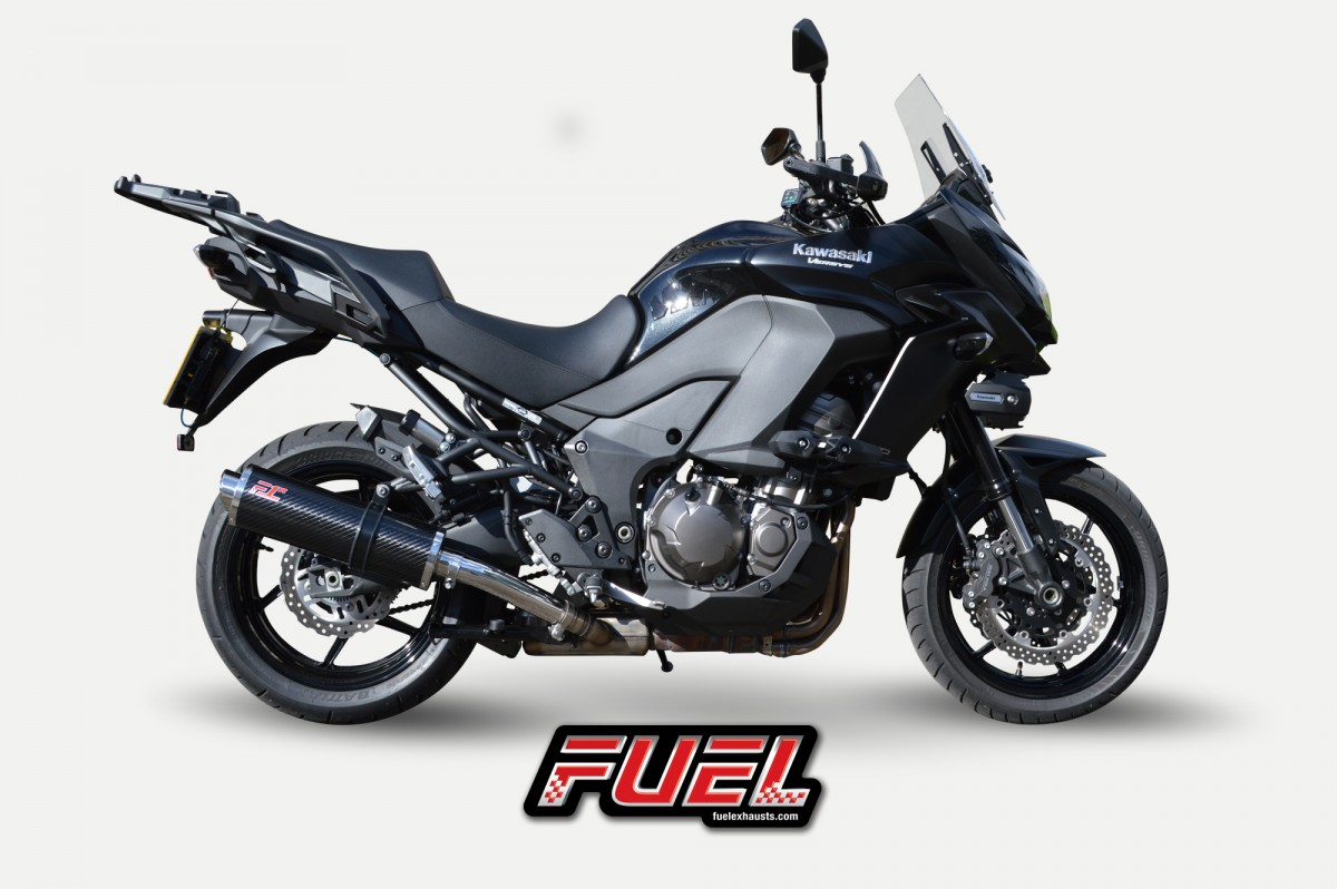 kawasaki versys 1000 2015 exhaust gallery. Black Bedroom Furniture Sets. Home Design Ideas