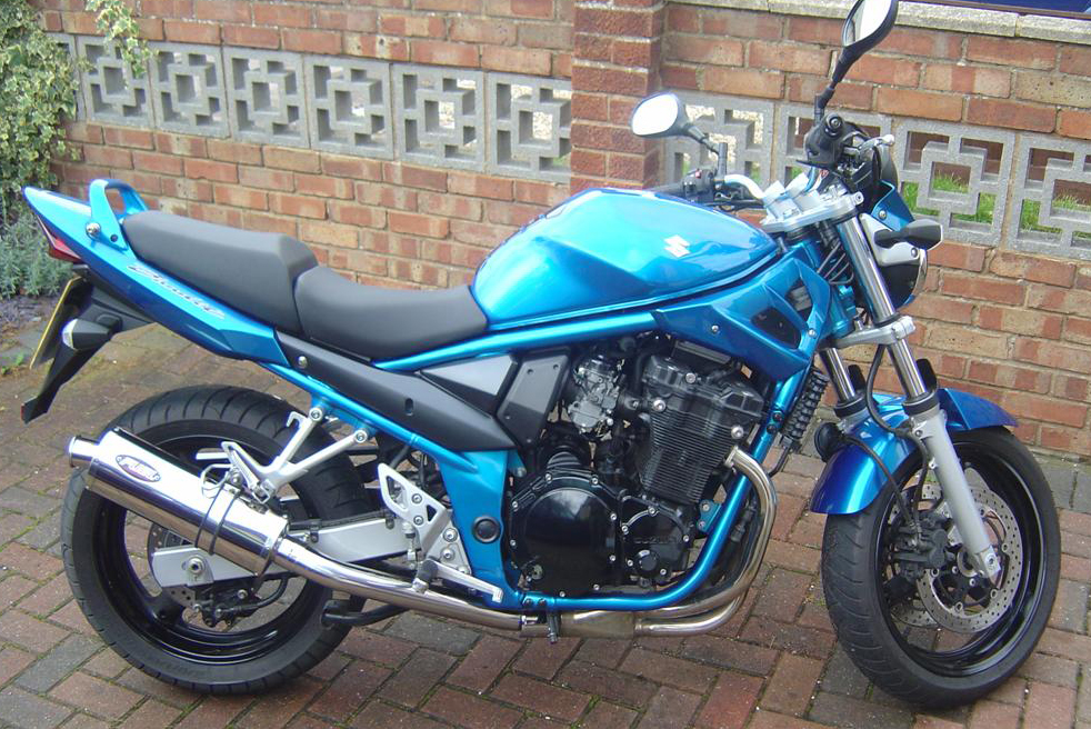 suzuki gsf650 bandit oil cooled 2005 06 exhaust systems. Black Bedroom Furniture Sets. Home Design Ideas