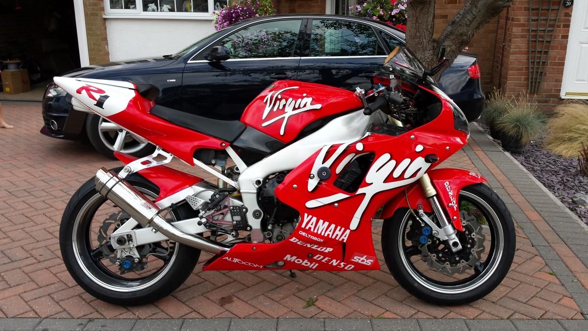 Yamaha Yzf 1000 R >> Yamaha YZF1000 R1 Carb Model (1998-01) Exhaust - GALLERY