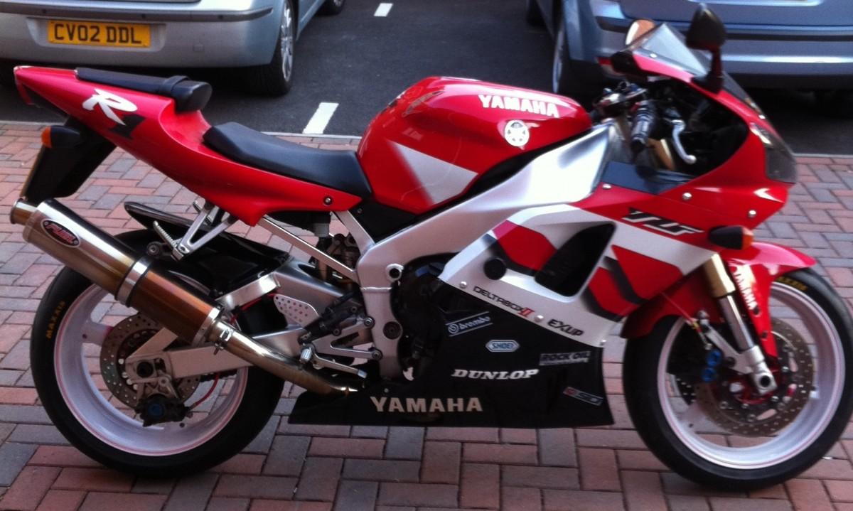 Yamaha r1 98 01 for 01 yamaha r1