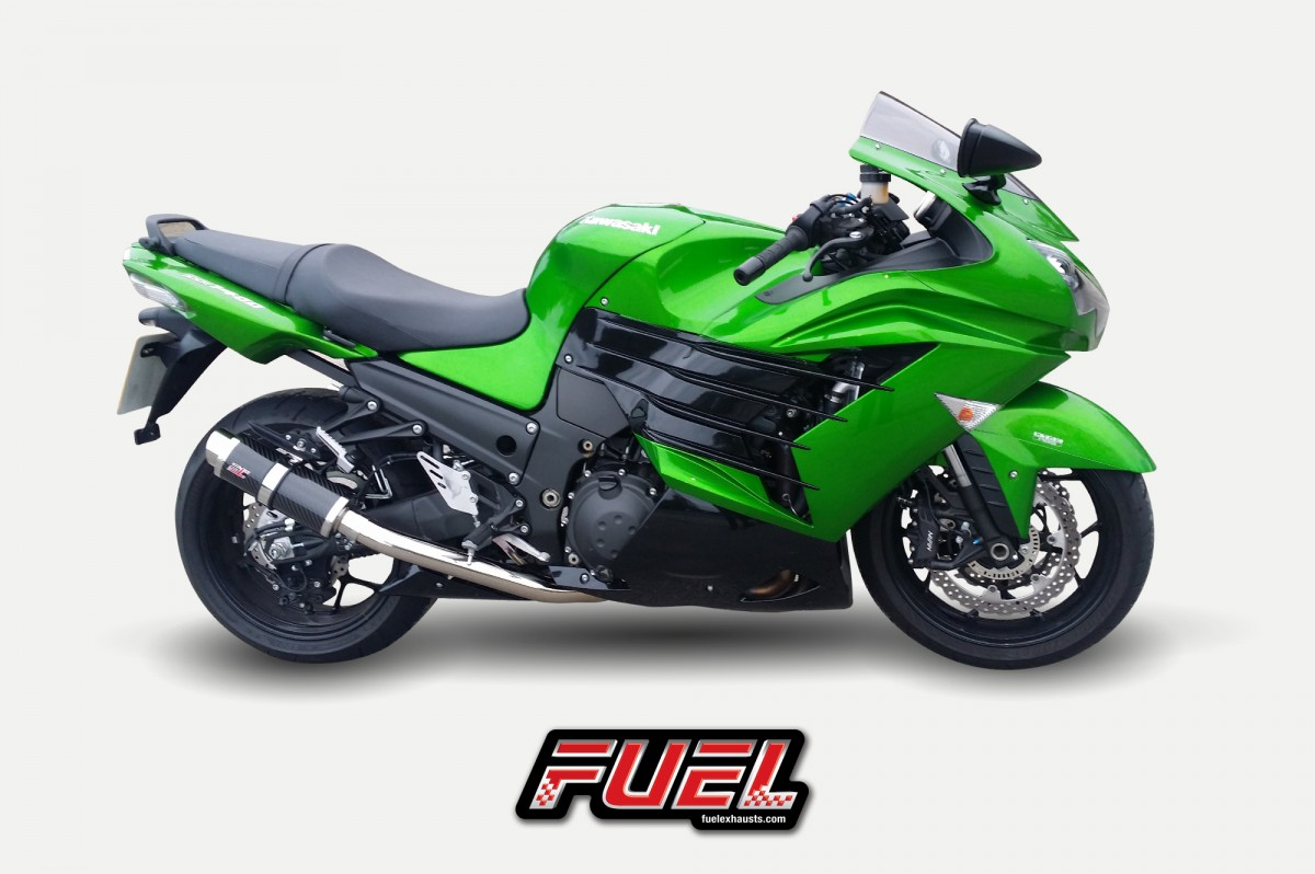 Kawasaki ZZR1400 12>\nF1R Race Carbon Fibre Exhausts