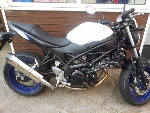 Suzuki SV650 2016>