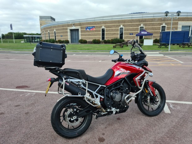 Triumph Tiger 900 GT Pro at the British Motor Museum