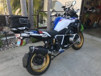 Excellent exhaust for the BMW R1250GS