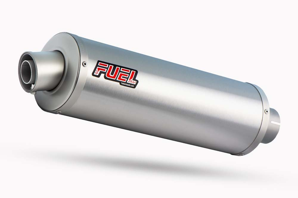 Classic Brushed Stainless Round Exhaust
