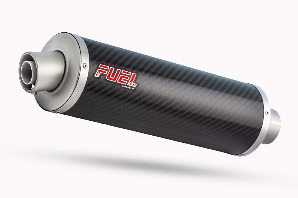 Classic Carbon Fibre Round Exhaust