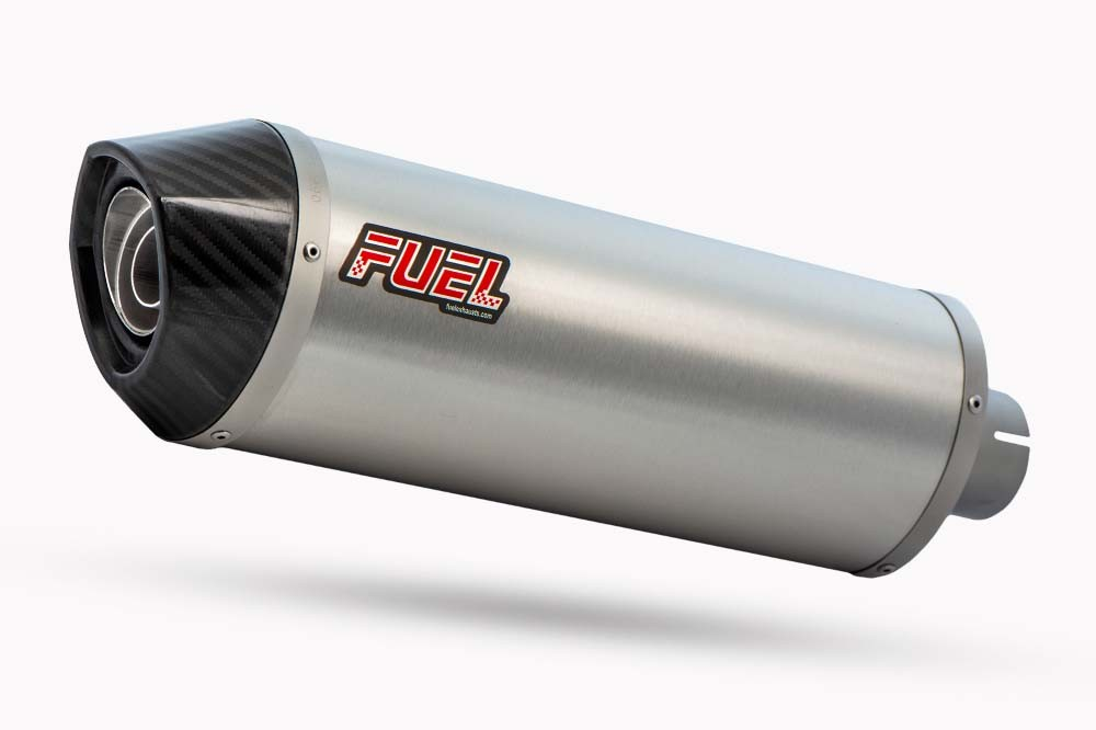 Diablo Brushed Stainless Oval Exhaust