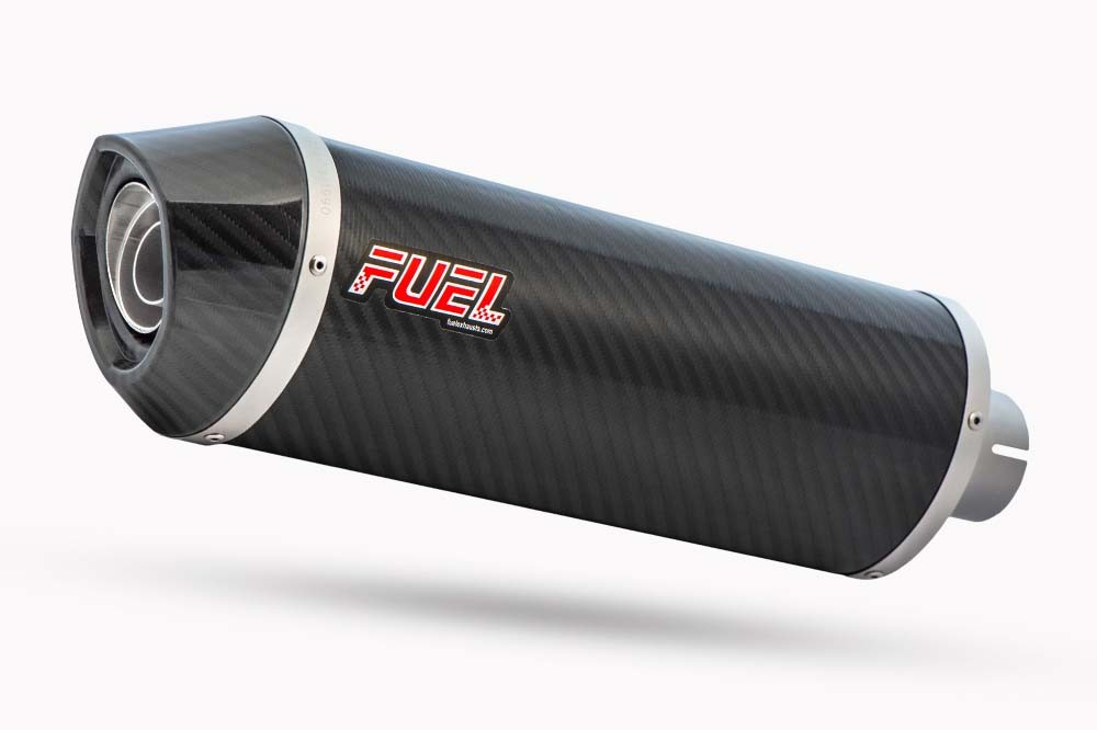 Diablo Carbon Fibre Oval Exhaust