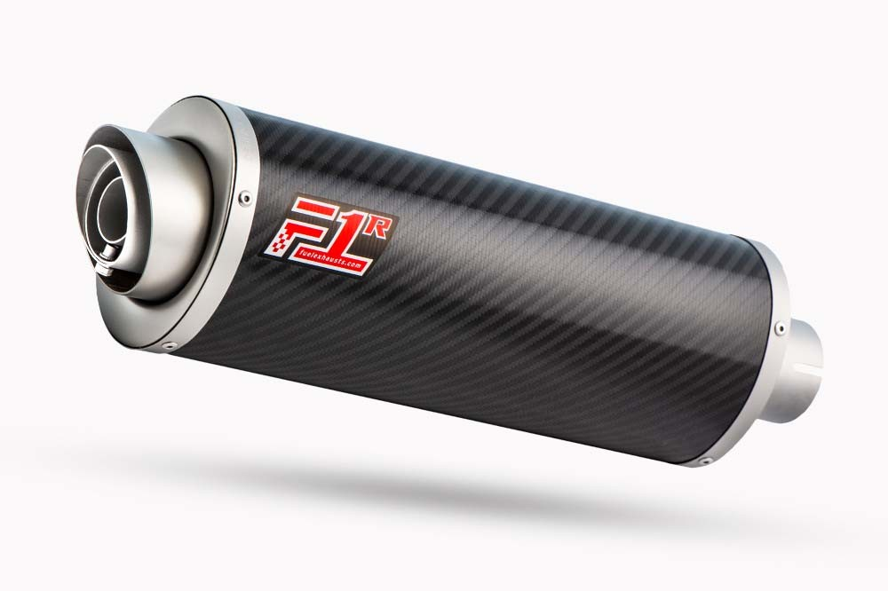 F1R Road Carbon Fibre Oval Exhaust