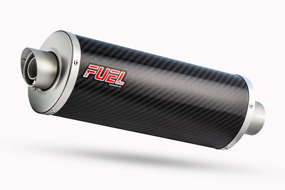 Slash Carbon Fibre Oval Exhaust