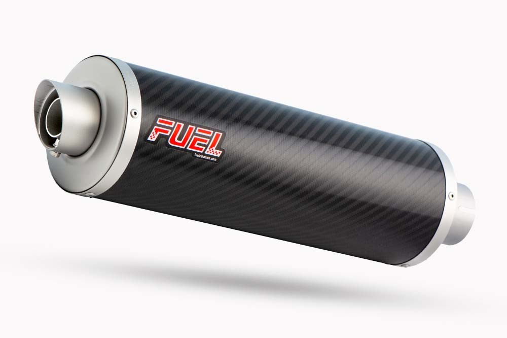 Slash Carbon Fibre Round Exhaust